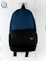 Рюкзак (с отделением для ноутбука до 17″) Staff - Dark blue with black 23 L Art. RB0018 (тёмно-синий \ чёрный)