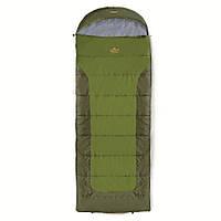 Спальный мешок Pinguin Blizzard Зелёный 190 R