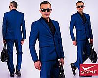 Мужской классический деловой костюм Влад