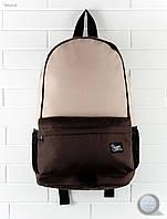 Рюкзак (с отделением для ноутбука до 17″) Staff - Brown with beige 23 L Art. RB0019 (бежевый \ коричневый)