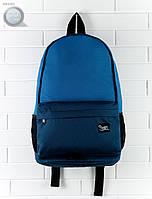 Рюкзак (с отделением для ноутбука до 17″) Staff - Double blue 23 L Art. RB0020 (синий \ тёмно-синий)