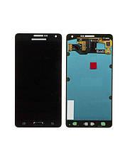 Дисплей (Lcd) Samsung A700F A700H Galaxy A7 black + touchscreen Original