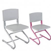 Стул СУТ.01 Пластиковая сидушка и спинка серый/серый