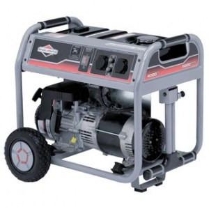 Бензиновый однофазный генератор  Briggs & Stratton 3750A