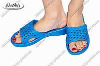 Женские шлепки синие (Код: ПЖ-06), фото 1