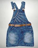 Джинсовый комбинезон 2,3,4,5 лет. Детская одежда оптом Турция.