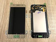 Дисплей на Samsung J500 Galaxy J5 Золото(Gold),  GH97-17667С, Super AMOLED!