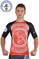 Рашгард for pankration BERSERK APPROVED WPC NEW red Berserk Sport
