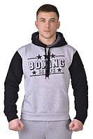 Толстовка BOXING grey/black Berserk Sport