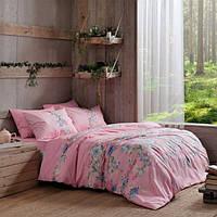 TAC постельное бельё ранфорс Fleur pembe