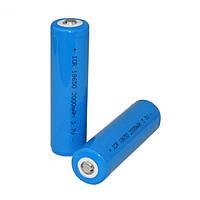 Аккумулятор 18650 для фонаря 3.7V-4.2V 2000 mah