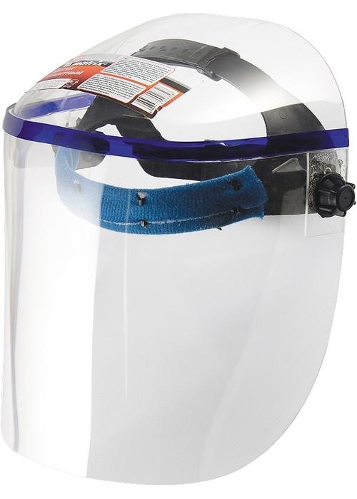Щиток защитный, 425х220 мм, пластик, защита для лица, цельный корпус MATRIX