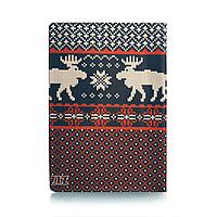 """Обложка для паспорта """"Олени вязаные"""""""