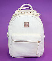 Женский рюкзак кроко стильный