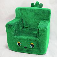 Детский стульчик зеленый