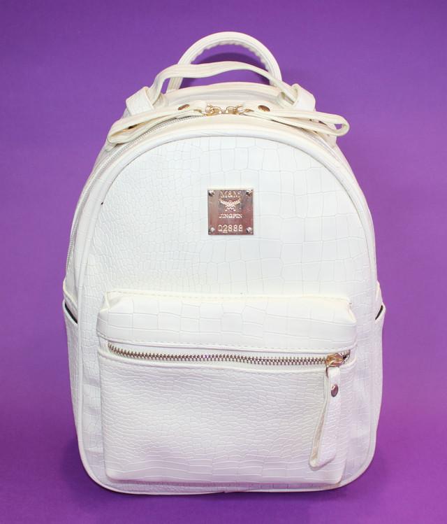 4cfb2da51530 Качественный и недорогой женский рюкзак белого цвета .Рюкзак имеет  вместительное отделение и дополнительные карманчики . Городские рюкзаки  отличаются ...