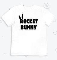 Футболка с принтом Rocket banny