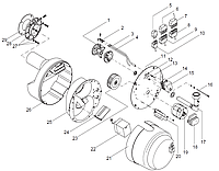"""Giersch RG30 Уплотнение для газового резьбового соединения R1 """""""