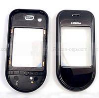 Nokia 7373 Крышка дисплейная черная, 0251476 оригинал