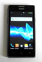Китайский смартфон Sony S29i 2 сим, 4 дюйма, 5 Мп, 2 батарейки, чехол, TV., фото 1