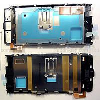 Nokia X6-00 Основа дисплейная с проклейкой дисплея, 0264973 оригинал
