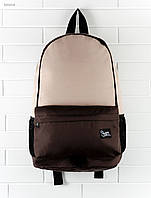 Рюкзак Staff brown with beige, коричневый и беж