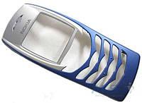 Передняя панель корпуса (рамка дисплея) Nokia 6100 Blue