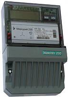 Счетчик трехфазный Меркурий 230 AR-02 R  3*230/380В 10(100)А активно-реактивный прямого вкл. однотарифный