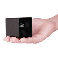 Портативный микро проектор с аккумулятором на 2 ч. работы, DLP