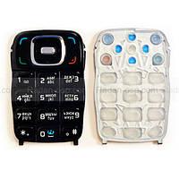 Nokia 6131 Клавиатура набора номера русс./ лат., Black, 9798815 оригинал