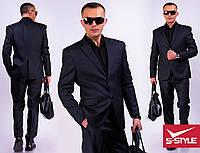 Мужской классический деловой костюм Гена