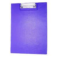 Планшет книжка А4/А3 с зажимом ПВХ BG-2 синий