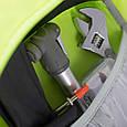 Качественный вместительный вело-рюкзак на 20 л. Osprey Syncro 20 S/M серый, фото 8