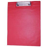 Планшет книжка А4/А3 с зажимом ПВХ BG-2 красный