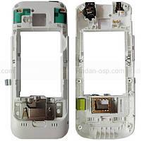 Nokia C5-00 3/ 2 MP/ C5-00 5MP Панель средняя (основа) белая, 0257374 оригинал