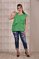 Зеленая блузка 0272-1