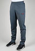 Спортивные брюки мужские батал MXC 3452 Тёмно-серые