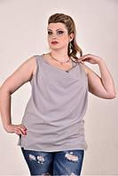 Серая блузка 0279-2