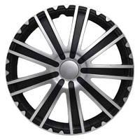 Колпак Колесный Toro (серебристо-черный) R15