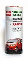 XADO (ХАДО) Atomic Oil 10W-40 SL/CF моторное масло полусинтетика - 1 литр.