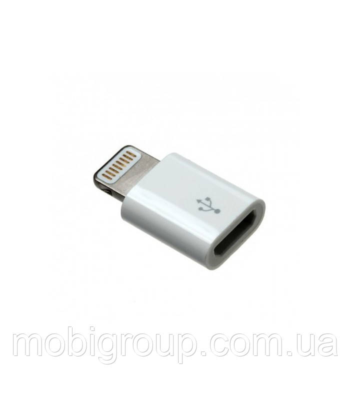 Переходник micro USB в Lightning Adapter для Apple iPhone/iPad