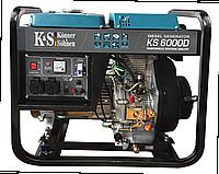 Дизельный электрогенератор Könner&Söhnen KS 6000 D