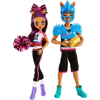 Куклы монстер хай спорт в школе монстров (monster high sport in school)