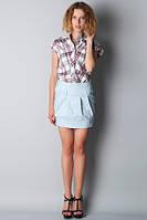 Мини-юбка молодежная с блестками Ю58