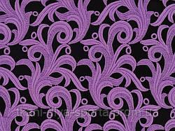 Кружевной мотив ярко-сиреневый CHRISANNE (Англия) (Tamara lace lilac dream)