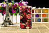 Силиконовый чехол для Samsung Galaxy J1 J00 с картинкой сова абстракция, фото 3