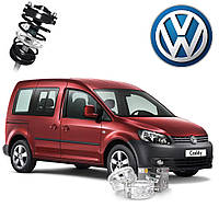 Автобаферы ТТС для Volkswagen Caddy (2 штуки)