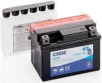 Аккумулятор мото EXIDE B/O 12V 3AH 50A YTX4L-BS/ETX4L-BS [114X71X86]