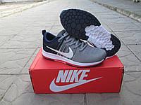 Женские Кроссовки Nike Zoom Flyknit Streak серые ткань