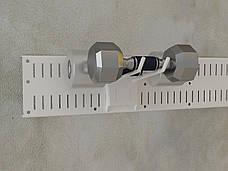 Кронштейн двойной. Гаражная система хранения. ТМ Кольчуга (Kolchuga), фото 3